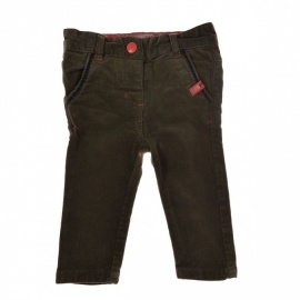 Pantalon marron DPAM 6 mois