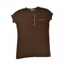 T-shirt marron Bonpoint 4 ans