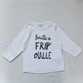 T-shirt fripouille TAO 12 mois