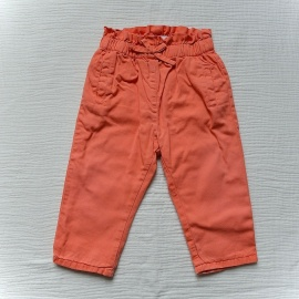 Pantalon orange DPAM 9 mois