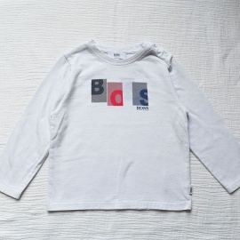 T-shirt blanc Hugo Boss 3 ans