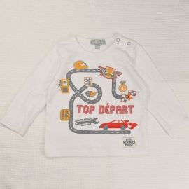 T-shirt top Miniman 12 mois