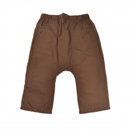 Pantalon marron DPAM leger 18 mois