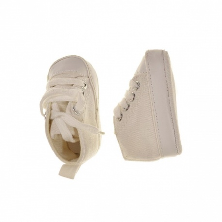 Chaussures blanches naissance