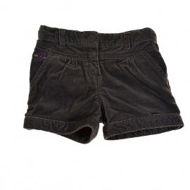 Short velours 3 ans
