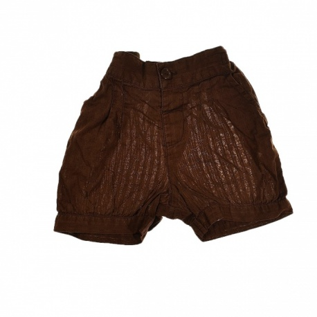 Short marron 2 ans