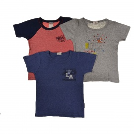 3 t-shirts Absorba 4 ans