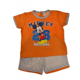 Ensemble orange Disney 18 mois