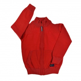 Gilet rouge TAO 3 ans