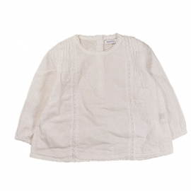 Chemise blanche Bout'chou 12 mois