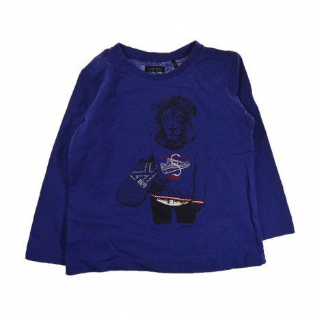 T-shirt lion IKKS 3 ans