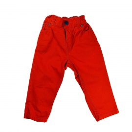 Pantalon orange HetM 12 mois