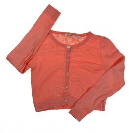 Gilet corail Marese 8 ans