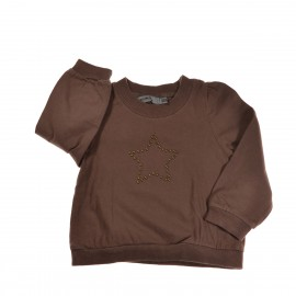 t-shirt marron TAO 3 ans