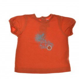 T-shirt orange SERGENT MAJOR 6 mois