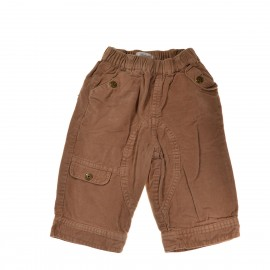Pantalon marron KITCHOUN 6 mois